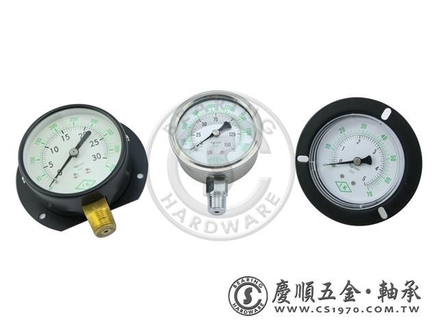 壓力計-充油、直立、埋入式