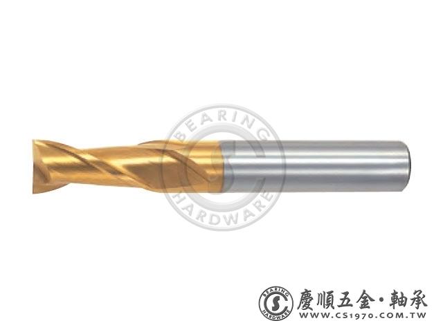 鍍鈦立銑刀 2刃 - LIST 6272P