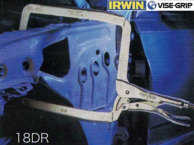 萬能鉗 IRWIN - 超寬C型萬能鉗 18DR、9DR